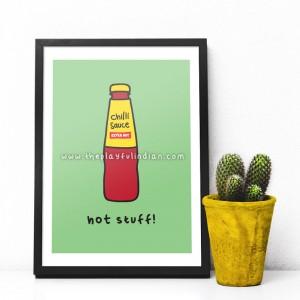 Hot Stuff - A5 Print