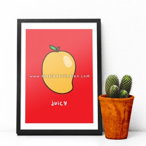 Juicy Mango - A5 Print