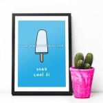Cool-fi - A5 Print