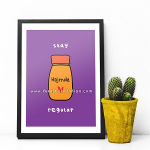 Stay Regular - A5 Print