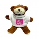 Personalised Teddy Bear Keyring