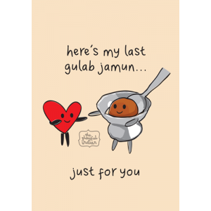 Here's My Last Gulab Jamun