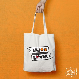 Ladoo Lover Shopper/Tote Bag