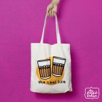 Chai Life Shopper/Tote Bag