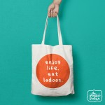 Eat Ladoos Shopper/Tote Bag