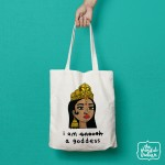 I Am A Goddess Shopper/Tote Bag