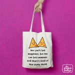 Samosa Happiness Shopper/Tote Bag