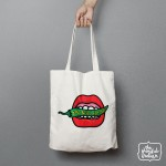 Too Spicy For You Shopper/Tote Bag