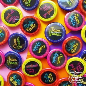 Custom Badges For Wedding / Party / Celebration