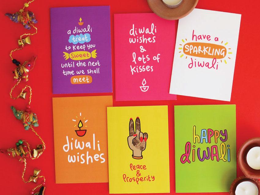 diwali cards 2017